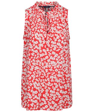 Women's Joules Cierra Top - Red Floral