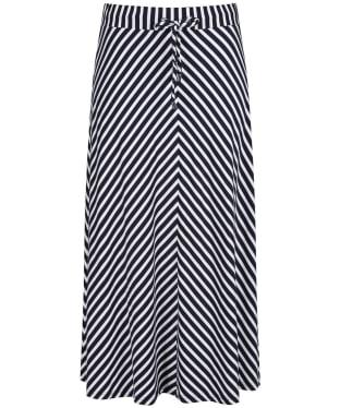 Women's Joules Auriel Skirt - Navy / White Stripe