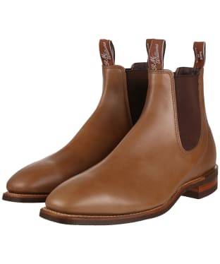 R.M. Williams Comfort Craftsman Boots - Yearling leather, comfort rubber sole - G (Regular) Fit - Nutmeg
