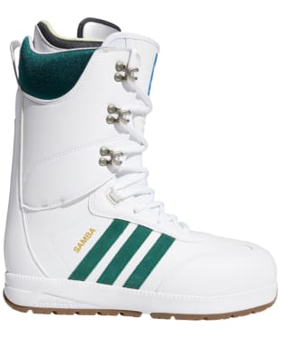 Men's Adidas Samba ADV Snowboard Boots - White / Green