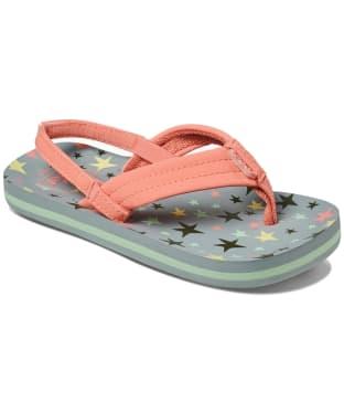 Girl's Reef Little Ahi Flip Flops - Littles - Twinkle Star