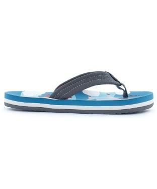 Boy's Reef Ahi Flip Flops - Kids - Blue Planes