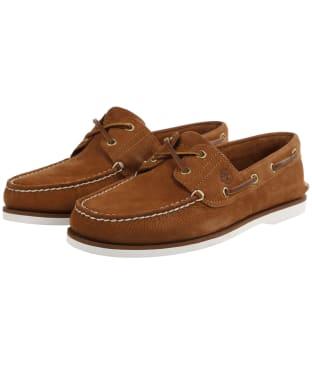 Men's Timberland Classic Boat Shoes - Rust Nubuck