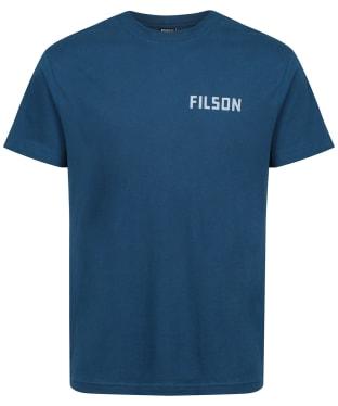 Men's Filson S/S Ranger Graphic T-Shirt - Marine Blue