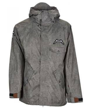 Men's Sessions Metallica Snowboard Jacket - Grey