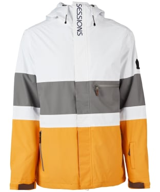 Men's Sessions Spearhead Snowboard Jacket - White