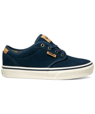 Vans Atwood Deluxe Suede Youth Shoes - Blue