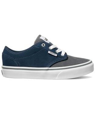 Vans Atwood Varsity Youth Shoes - Navy / Grey
