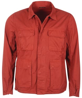 Men's Barbour International Dion Casual Jacket - Clay Red