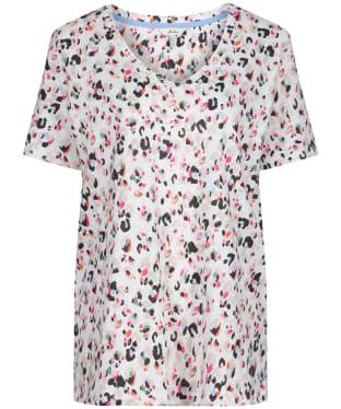 Women's Joules Celina Print T-Shirt - CREAM WING PRT