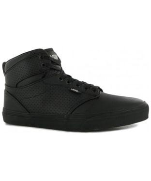 Men's Vans Winston Hi Perf Leather Shoes - Black