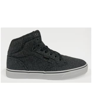 Men's Vans Winston Hi H16 Textile Shoes - Black / Grey