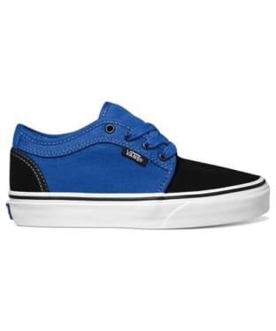 Vans Chukka Low Youth Skate Shoes - Black Royal