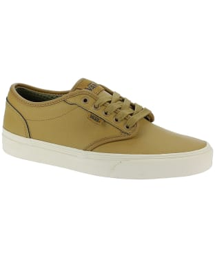Men's Vans Atwood Leather Skate Shoes - Brown
