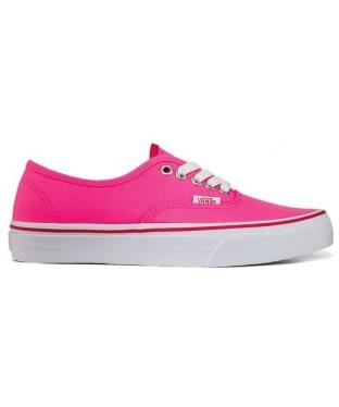 Women's Vans Kress Shoes - Neon Pink