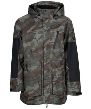 Men's Bonfire Strata Insulated Snowboard Jacket - Olive Camo / Black