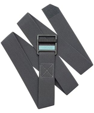 Arcade Utility Guide Belt - Charcoal / Blue