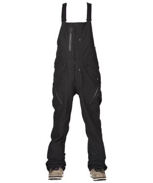 Men's Bonfire Master 3-Layer Stretch Bib Snowboard Pants - Black