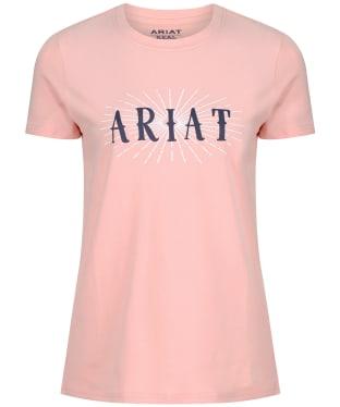 Women's Ariat R.E.A.L. Sundown Tee - Pure Peach