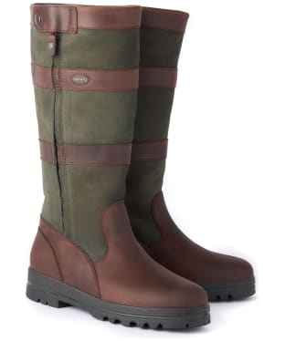 Dubarry Wexford Leather Boots - Ivy