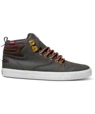 Men's DVS Elm Skate Shoes - Brown PU