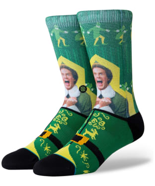 Men's Stance Elf Street Socks - Green