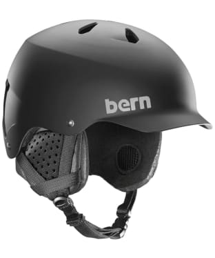 Bern Winter Watts EPS Helmet - Matte Black