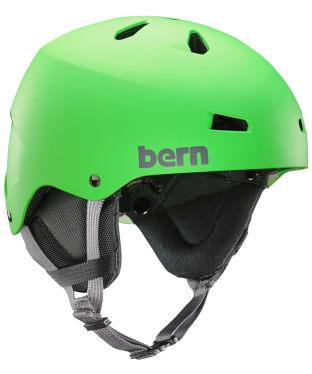 Men's Bern Team Macon Helmet - Matte Neon Green