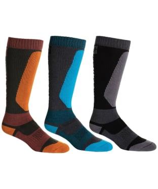 Men's 686 Bruiser Sock - 3-Pack - Assorted