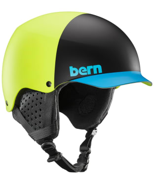 Bern Baker Helmet - Matte Neon Yellow
