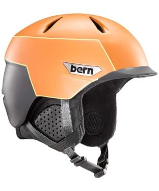 Bern Weston Peak Helmet - Matte Burnt Orange