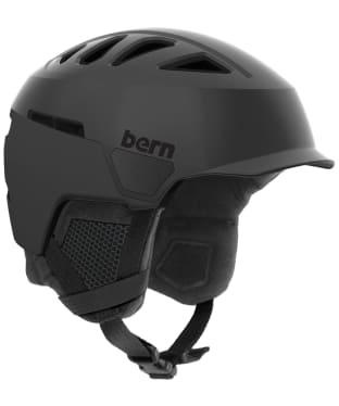 Men's Bern Heist Brim Helmet - Satin Black