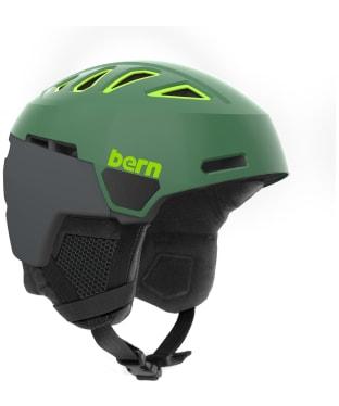 Bern Heist Premium Helmet - Satin Leaf Green