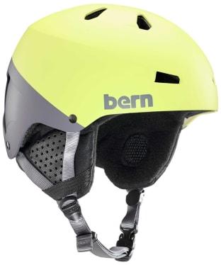 Men's Bern Macon EPS Helmet - Matte Hyper Green