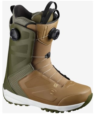 Men's Salomon Dialogue Snowboard Boots - Olive Night