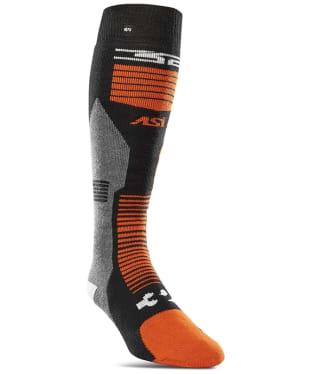 Thirty Two ASI Merino Vapor Sock - Black / Orange