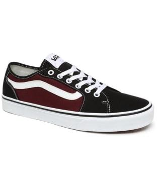 Men's Vans Filmore Decon Skate Shoes - Black / Port Royal