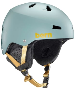 Men's Bern Macon EPS Helmet - Matte Slate Grey
