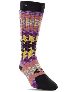 Women's ThirtyTwo Spectrum Snowboard Socks - Black