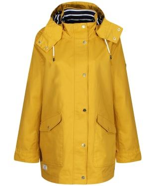 Women's Joules Coast Waterproof Jacket - Antique Gold