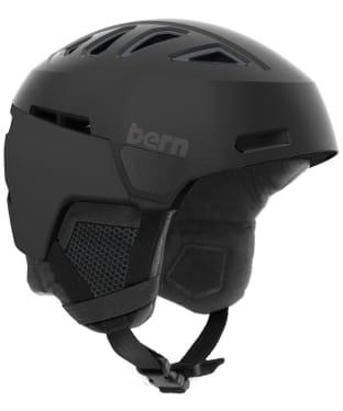 Bern Heist Premium Helmet - Satin Black