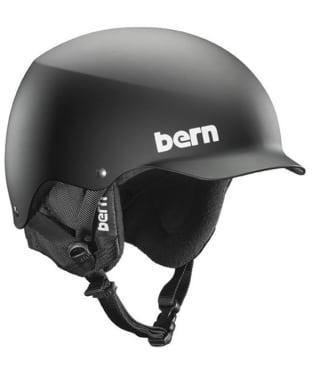 Bern Baker EPS 8 Tracks Helmet - Matte Black