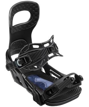 Bent Metal Joint Snowboard Bindings - Black