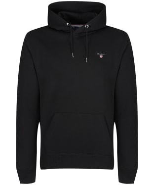 Men's GANT Original Sweater Hoodie - Black