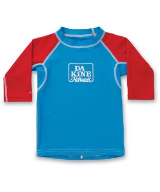 Boy's Dakine Snugfit Rash Vest - Blue