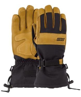 POW August Short Gloves - Buckhorn Brown