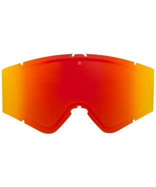 Electric Kleveland Replacement Goggle Lenses - Brose/Red Chrome