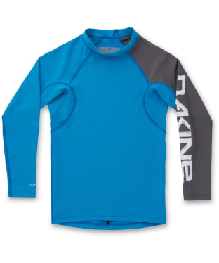 Boy's Dakine Heavy Duty Rash Vest - Tabor Blue