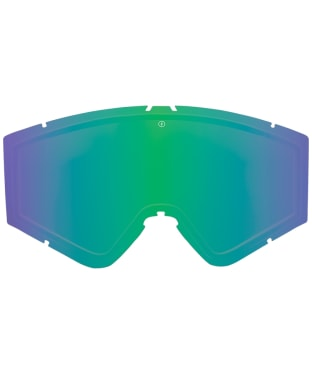 Electric Kleveland Replacement Goggle Lenses - Brose / Green Chrome