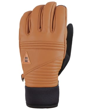 Men's 686 GORE-TEX Leather Gloves - Brown